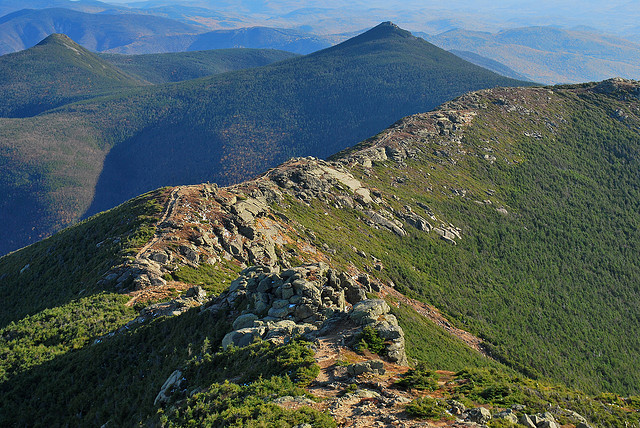 Camp and Hike Appalachian Trail in Franconia Notch State Park