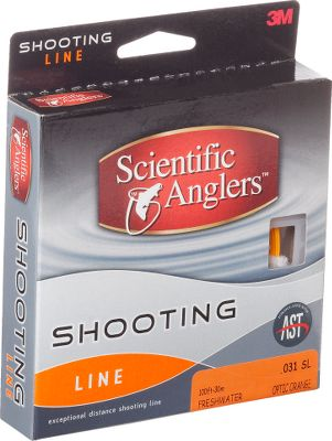 Fishing Shoot longer casts with less effort with Scientific Anglers low-stiffness shooting line. Formulated with Advanced Shooting technology, this line delivers minimal friction with high speed and high performance. Braided multifilament nylon core with a hard, low-friction coating. Color: Orange. Color: Orange. Type: Fly Line. - $17.88