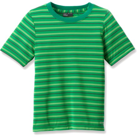 Entertainment Featuring a lightweight, sun-protective fabric with an airy and breathable weave, the Killtec Nason Jr T-shirt is a warm-weather staple for active boys. - $4.83