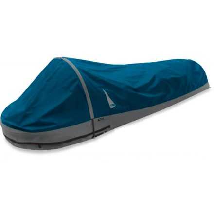 Camp and Hike The Outdoor Research Advanced bivy sack offers full-on weather protection and has a commodious design featuring a generous footprint for those who prefer a little more wiggle room . - $319.00