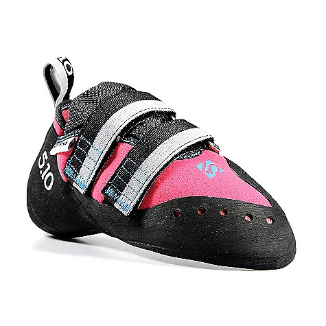 Climbing Free Shipping. Five Ten Women's Blackwing Climbing Shoe FEATURES of the Five Ten Women's Blackwing Climbing Shoe Stealth Hf Rubber - Super sticky, it conforms to even the smallest edges Medium stiff midsole Synthetic upper Downturned toe Velcro closure - $174.95