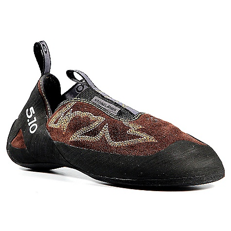 Climbing Free Shipping. Five Ten Men's Stonelands Slipper Climbing Shoe DECENT FEATURES of the Five Ten Men's Stonelands Slipper Climbing Shoe With the Stonelands Slipper in your quiver, plan on adventure and exploration like never before This performance slipper has a natural, relaxed foot position None of the shoe-spin common to ordinary slippers Added a supportive midsole for edge control and lateral stability Designed to reward performance without robbing comfort For climbers who want a performance slipper for indoor training, outdoor bouldering and narrow cracks - $129.95