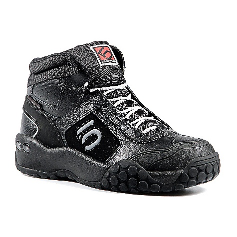 Free Shipping. Five Ten Men's Impact High Shoe DECENT FEATURES of the Five Ten Men's Impact High Shoe Perfect for flat pedal gravity riders looking for more ankle padding and protection Slingshot construction at the heel locks the foot down for a secure and comfortable fit from heel to toe While Action leather uppers keep the shoe light and durable - $129.95