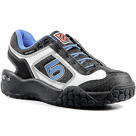 Fitness Free Shipping. Five Ten Men's Impact Low Shoe DECENT FEATURES of the Five Ten Men's Impact Low Shoe Burly enough for the most hardcore riders, yet comfortable enough to wear around your local bike shop The Slingshot construction at the heel locks the foot down for a secure and comfortable fit from heel to toe Enhanced breathability through the lateral mesh panel - $119.95
