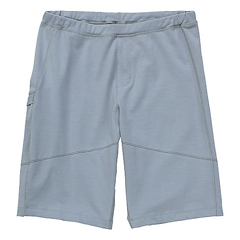 Free Shipping. Ibex Synergy Long Short II DECENT FEATURES of the Ibex Synergy Long Short II Semi-fit Elastic waist with drawstring Faux fly Envelope pocket on right leg Tag-free label The SPECS Inseam with gusset: small: 10.5in., medium: 11in., long and extra long: 11.5in. 49% Organic Cotton, 48% Merino Wool, 3% Lycra 18.5 micron Ibex Exclusive Triple Knit Jersey GOTS Certified Organic Cotton 265 g/m2 - $110.00