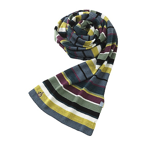 Isis Women's Stripe Scarf DECENT FEATURES of the Isis Women's Stripe Scarf Fine guage knit Versitle, fun striped design The SPECS Fabric: 50% wool, 50% acrylic yarn - $44.95
