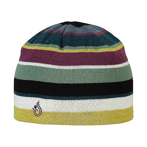 Isis Women's Stripe Hat DECENT FEATURES of the Isis Women's Stripe Hat Fine guage knit Versitle, fun striped design The SPECS Fabric: 50% wool, 50% acrylic yarn - $29.95