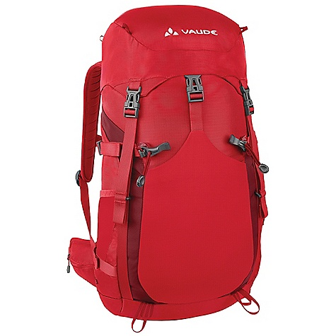 Camp and Hike Free Shipping. Vaude Brenta 34 Pack DECENT FEATURES of the Vaude Brenta 34 Pack Padded hipwings with zip pockets Zip pocket in the lid Additional zip lid pocket inside Side mesh pockets Front outer pocket Gear attachment Side compression straps Sternum strap Opening for hydration system Compass The SPECS Weight: 1.284 kg 210 D Ripstop Polyamide Polyurethane coated 420 D Polyamide Polyurethane coated - $121.45
