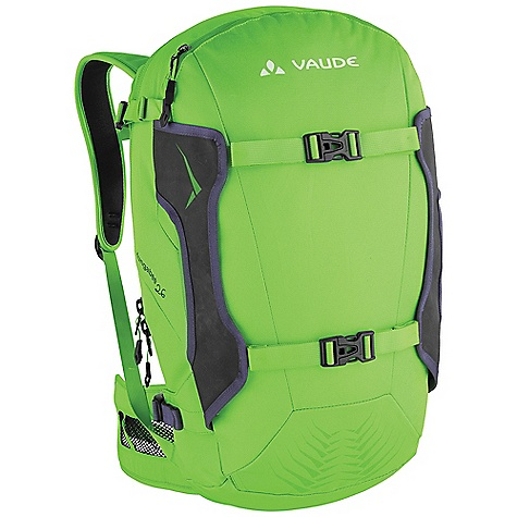 Snowboard Free Shipping. Vaude Hungabee Freeride 26 Pack DECENT FEATURES of the Vaude Hungabee Freeride 26 Pack Front loader for easy and organised access Fleece-lined zip pocket for goggles, sunglasses or mobile phone Compartment for shovel and probe Attachment straps for snowboard Side ski attachment Removable hip belt Sternum strap with whistle Opening for hydration system The SPECS Weight: 1.112 kg 100% Polyester 600 D Polyurethane coated Contrast: 100% Polyamide 300 D Cordura Dobby Polyurethane coated Lining: 100% Polyester 200 D Polyurethane coated - $121.45
