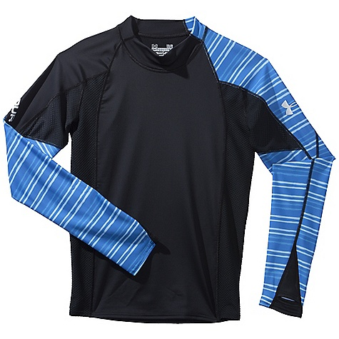 Fitness Free Shipping. Under Armour Men's Greyton LS Rashguard DECENT FEATURES of the Under Armour Men's Greyton Long Sleeve Rashguard Highly Abrasion Resistant Mesh Panels Underarm Quick dry fabric Armour block anti-odor technology The SPECS Body: 6.9 oz, 87% Nylon/13% Elastane - $59.95