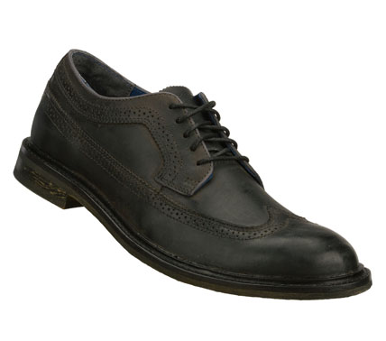 Entertainment A classic dapper style is always suitable in the Mark Nason SKECHERS Surrey shoe.  Smooth leather upper in a lace up dress wing tip oxford with stitching; overlay and perforation accents. - $59.00