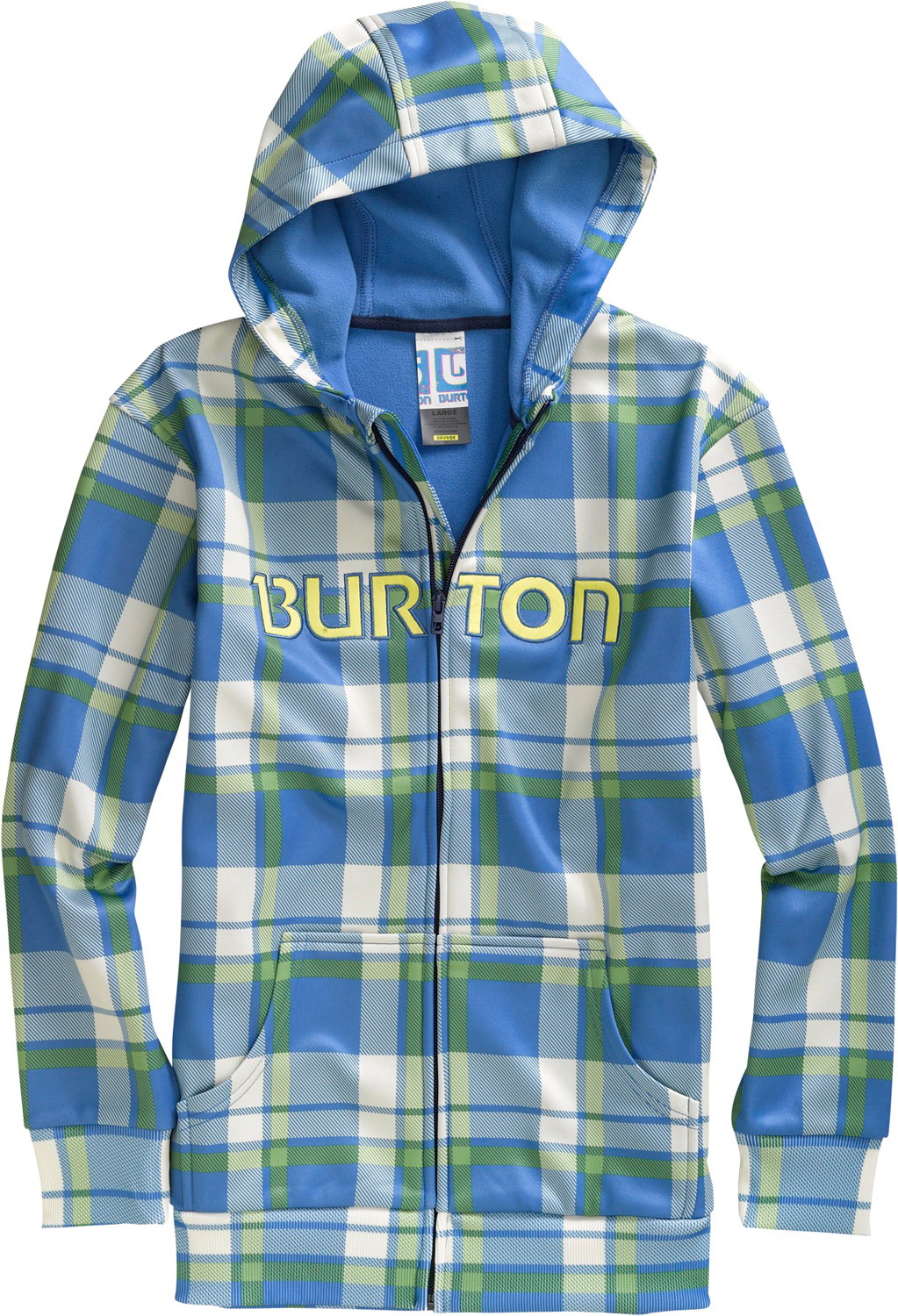 Snowboard The last hoodie you'll ever need. Ride, hike, or hang without succumbing to the chilling side effects of cotton.Key Features of the Burton Bonded Hoodie: DRYRIDE Thermex Bonded Fleece Sweatshirt Style Fulltime Hood Kangaroo Handwarmer Pockets Ribbed Cuffs and Hem Sig Fit - $33.56