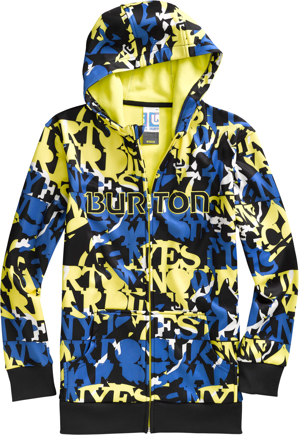 Snowboard The last hoodie you'll ever need. Ride, hike, or hang without succumbing to the chilling side effects of cotton.Key Features of the Burton Bonded Hoodie: DRYRIDE Thermex Bonded Fleece Sweatshirt Style Fulltime Hood Kangaroo Handwarmer Pockets Ribbed Cuffs and Hem Sig Fit - $35.95