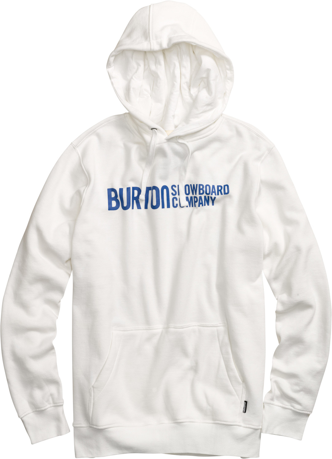 Snowboard Key Features of the Burton Classic Horizontal Pullover Hoodie: 80% Cotton, 20% Polyester, 300G Fleece Kangaroo Pocket with Interior Media Stash Screen Print on Chest Regular Fit - $32.95