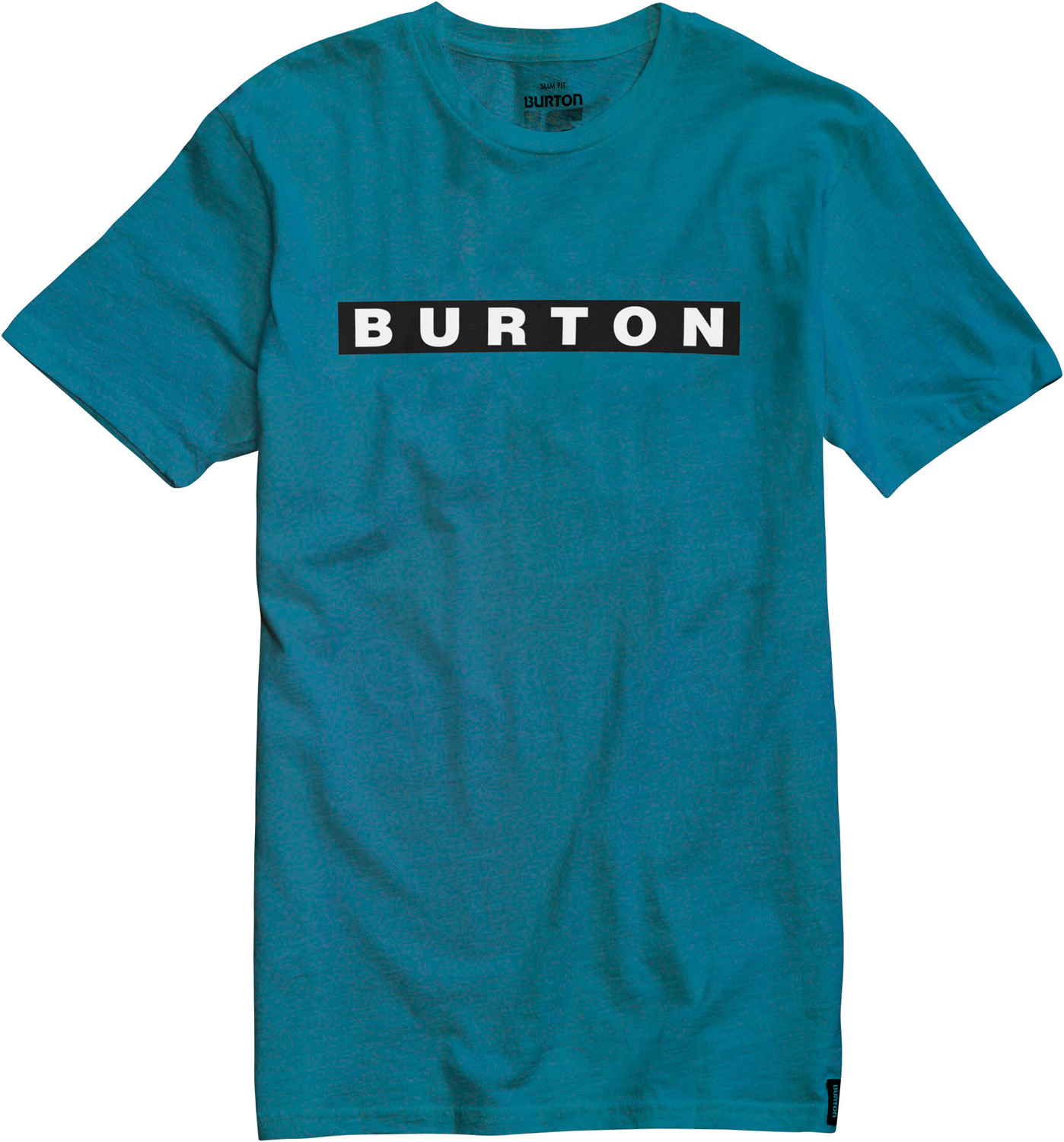 Snowboard Key Features of the Burton Bar Slub T-Shirt: 100% Cotton Slub Jersey Garment dyed Screen Print on Front Slim Fit - $18.95