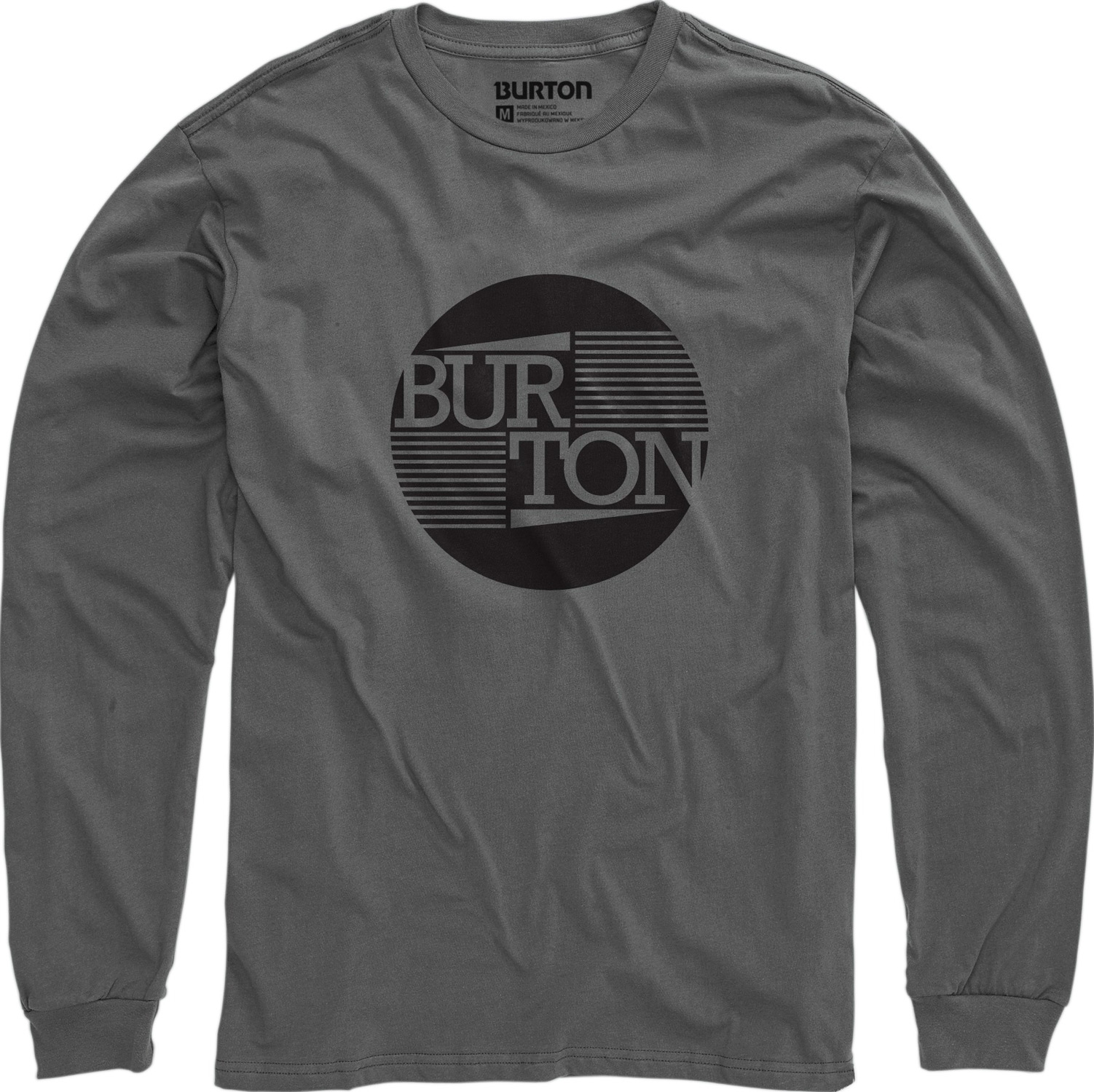 Snowboard Key Features of the Burton Gamma L/S T-Shirt: 100% Cotton Screen Print on Front Regular Fit - $12.95