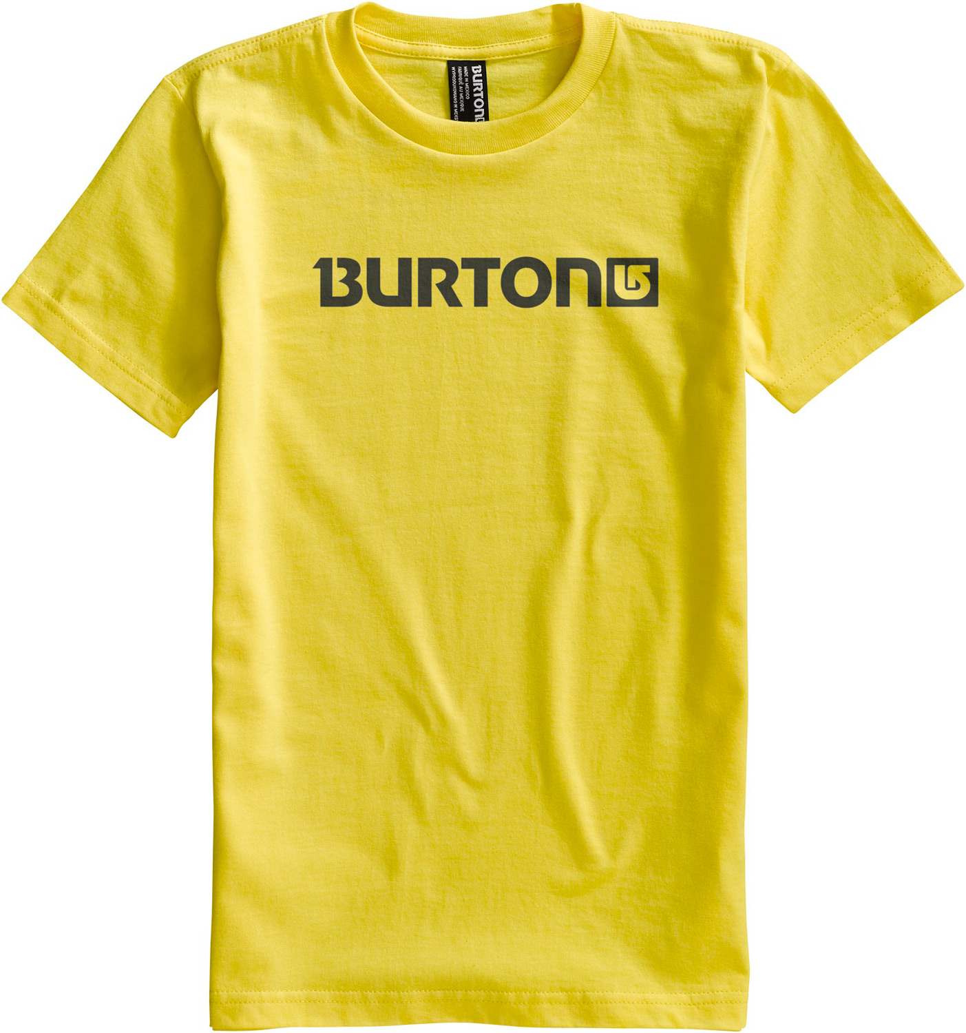 Snowboard Key Features of The Burton Logo Horizontal T-Shirt: Regular Fit Crew Neck Short Sleeve 100% Cotton Screen Print on Front and Back Regular Fit XS-XL - $13.95