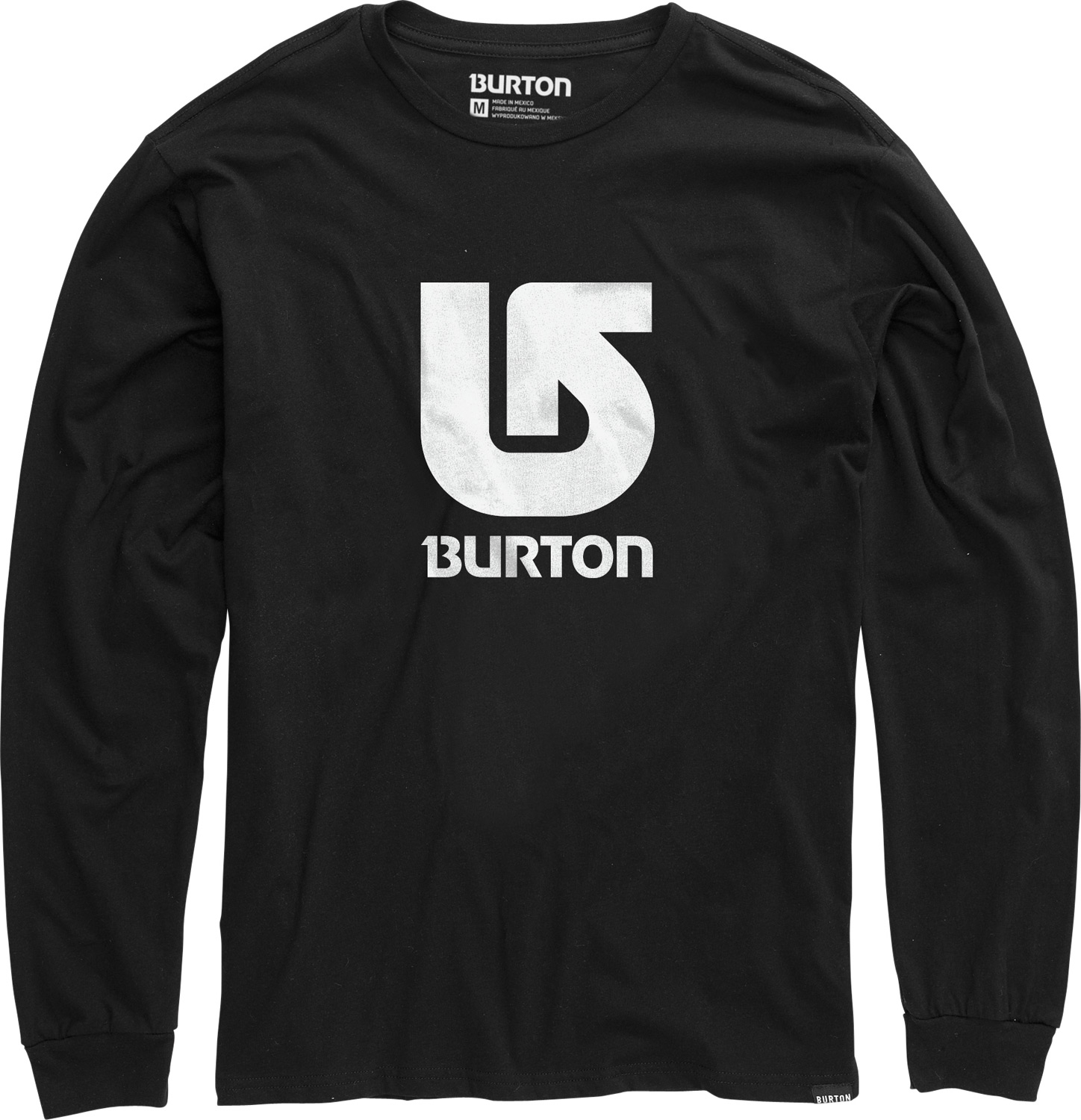 Snowboard Perfect for those mildly cold days leading into winter, the Burton Logo Vertical L/S T-Shirt will keep you nice and warm. With the shirts featured 100% cotton and long sleeves, you are guaranteed warmth no matter where you go. Anything from snow, to severe wind chill, the Burton Logo Vertical L/S T-Shirt has got you covered!Key Features of the Burton Logo Vertical L/S T-Shirt:  100% Cotton  Screen Print on Front  Regular Fit - $17.95