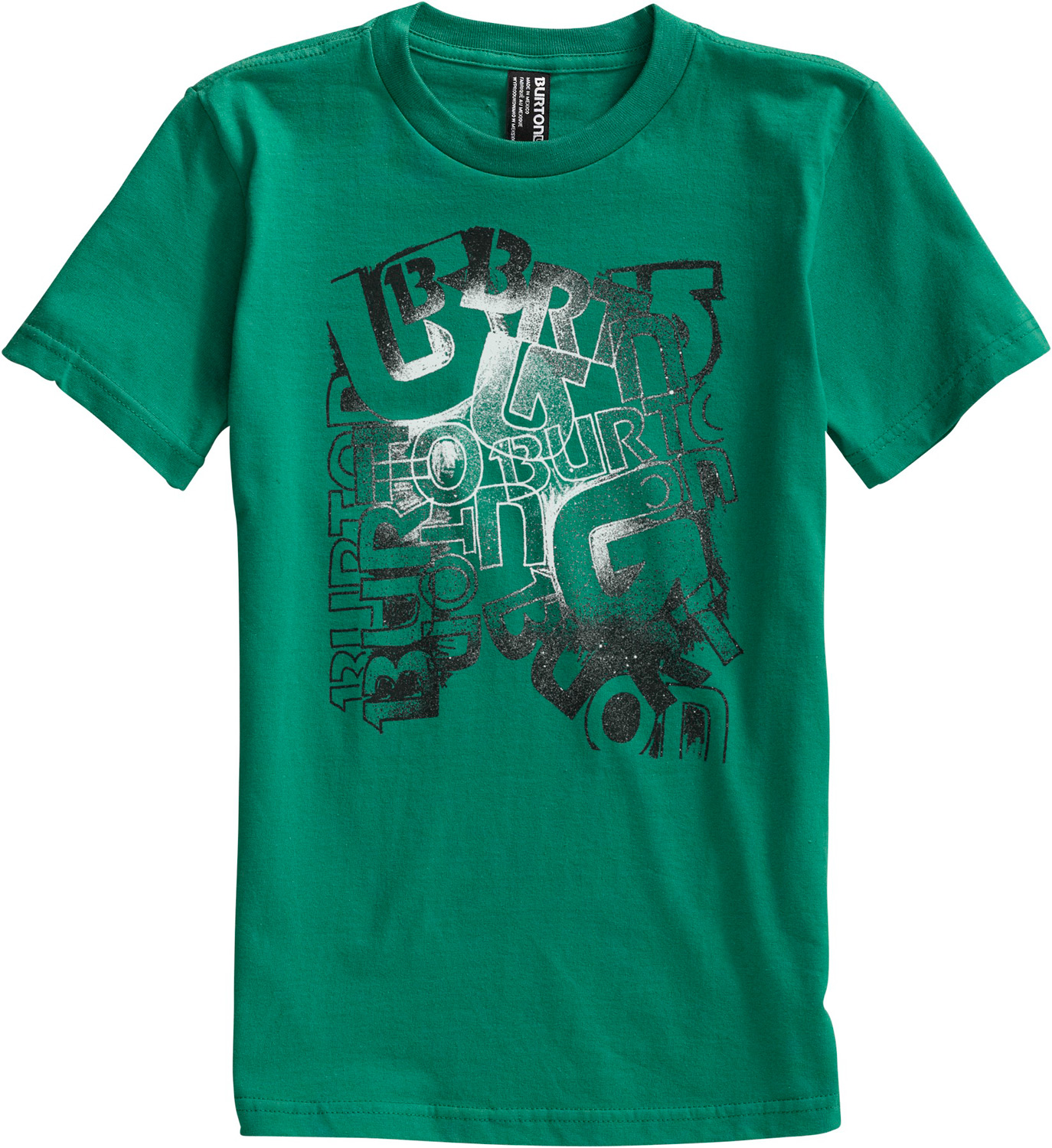 Snowboard Key Features of the Burton Scrawl T-Shirt: 100% Cotton Screen Print on Front Regular Fit - $10.95