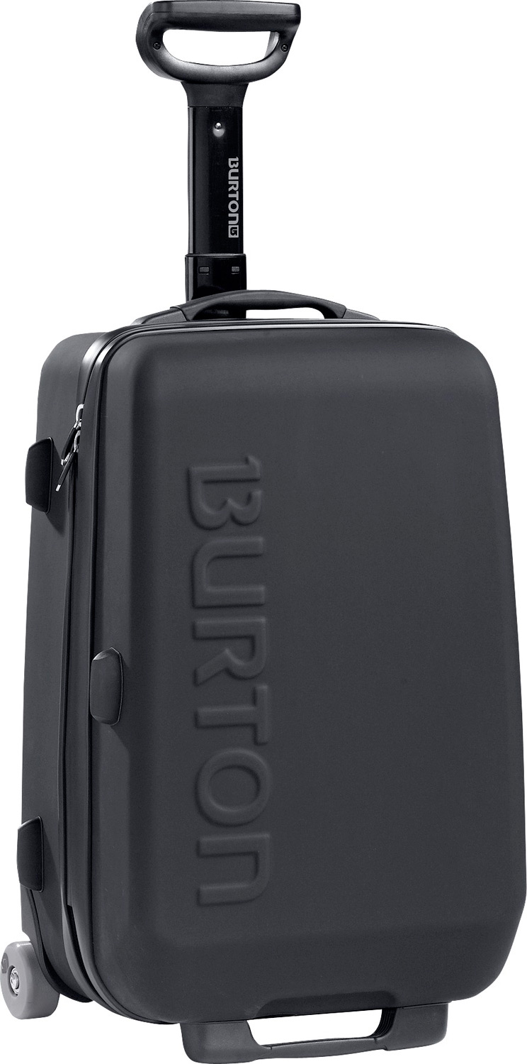 Entertainment Lightweight and rugged carry-on convenience.Key Features of the Burton Air 20 Hard Luggage: 41L [20in x 13in x 9.5in] [51cm x 33cm x 24cm] Weight: 8 lbs [3.6 kg] Fabrication: Lightweight / Durable ABS Plastic with Polycarbonate Laminate Shovel Inspired Telescoping Handle Plush Polyester Fur Lining Mesh Internal Dividers Lockable, Contoured Zipper Pulls Fit TSA-Approved Locks Meets Most Airline Carry-On Size Restrictions - $172.95