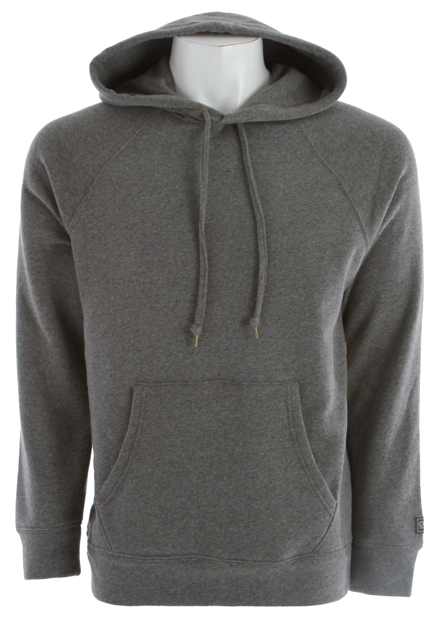 Key Features of the Obey Lofty Creature Comforts Pullover Hoodie: Lofty fleece crew neck with raglan sleeves Includes single chest pocket Modern label on sleeve hem and interior neck 60% cotton/40% polyester - $38.95