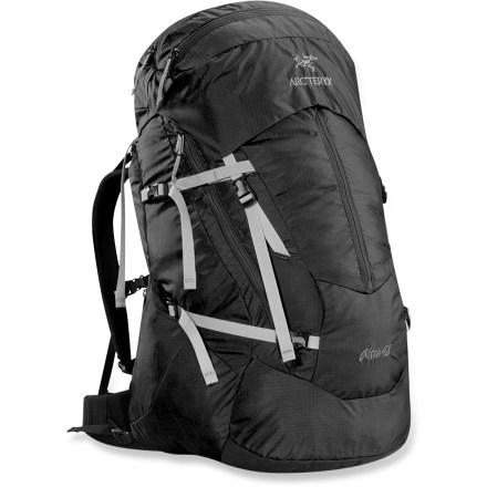 Camp and Hike Sized for light-and-fast weekends or gear-heavy overnights, this versatile workhorse sports a fully customizable harness and plenty of pockets for enhanced gear organization and accessibility. - $289.00