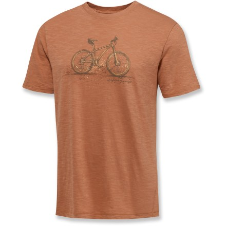 Entertainment The Life is good(R) Good Karma Slub T-Shirt features a soft texture that's sure to please. Made from certified 100% organic cotton for breathable comfort and easy care. Semifitted. Closeout. - $13.73