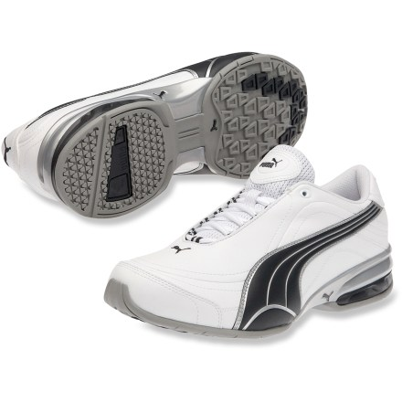 Fitness Head outside for a run, walk or other active pursuit in the PUMA Tazon 4 running shoes. With their sporty design and comfortable fit, they'll keep up with you every step of the way. - $29.73