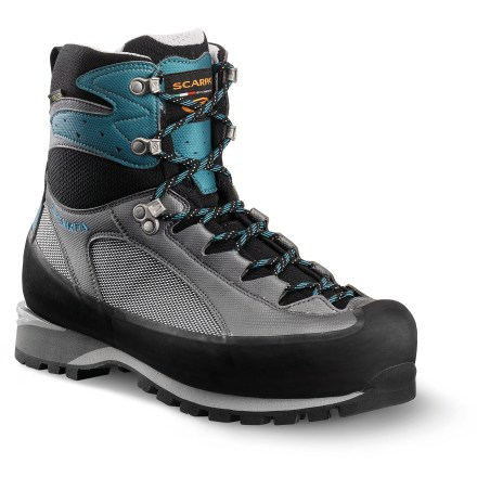 Camp and Hike The Scarpa Charmoz Pro GTX mountaineering boots are made for high-altitude enthusiasts looking for lightweight support and comfort while conquering peaks. - $163.83