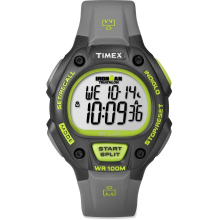 Camp and Hike The Timex Ironman 30-Lap watch has triathlon-ready features built into a durable, competition-worthy design. - $54.95