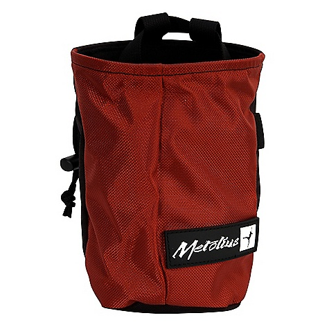Climbing Features of the Metolius Yosemite Chalk Bag This big-volume bag with a tapered shape gives unparalled access to the dust Full-length pile lining Stiff, easy-access rim Brush holder Includes belt with side-release buckle - $11.96