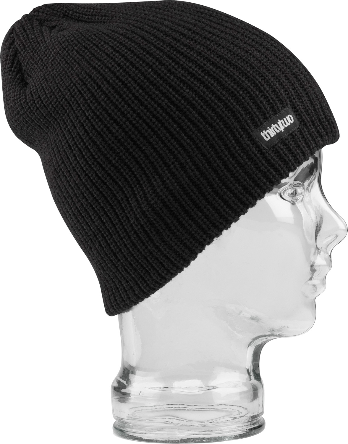 Key Features of the 32 - Thirty Two Standard Beanie: 100% acrylic solid color sag beanie with woven label - $19.95