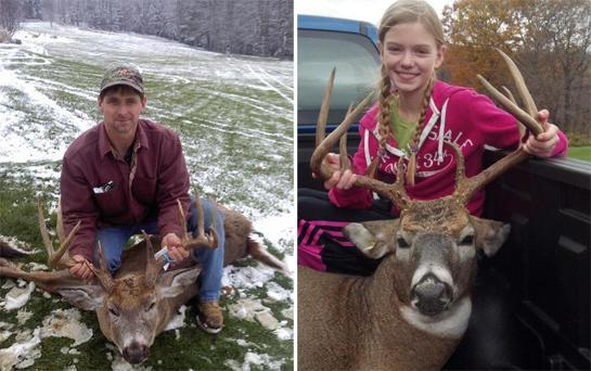 Hunting Do you like the 35-Year Buck or the Pigtails Buck? Vote for your favorite now: http://bit.ly/botbNE1