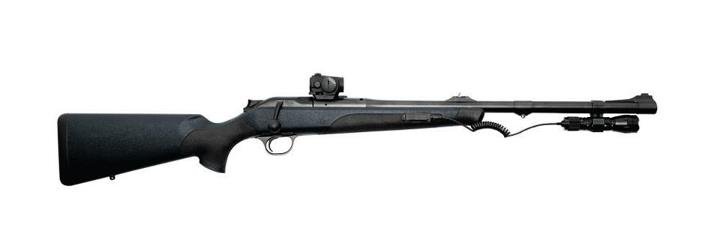 Hunting Part high-tech bolt gun, part tactical rifle, see why the Blaser R8 Professional is the ultimate dangerous-game rifle. http://bit.ly/BlaserR8
