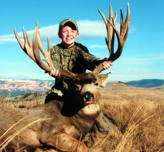 Hunting Youth hunters are taking more and more record book animals. See the story behind the trend: http://bit.ly/15PFy4W