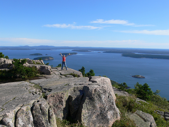 Camp and Hike Champlain Mountain: Acadia National Park, Maine