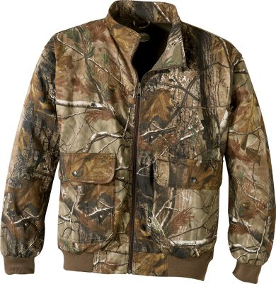 "Hunting Our Silent Weave clothing provides hunters with a lightweight, comfortable way to conceal themselves. And for even more versatility, we're offering it with the added benefit of Scent-Lok so you can control your odor and hunt more effectively. The jacket is made of tough Silent Weave 7.5-oz. polyester/cotton to hold up to years of harsh use. It has two super-large (8.5""x10"") snap-close cargo pockets to hold all the accessories you need close at hand. Slash handwarmer pockets underneath. The set-in sleeve design allows complete freedom of movement. Elbow patches give you double the protection against abrasion. The stand-up collar is sized short to stay out of the way of bowstrings. Knit cuffs and waistband. License tag loop on back. Heavy-duty YKK zipper. Imported.Sizes: M-2XL.Camo patterns:Seclusion 3D Open Country , Seclusion 3D , Mossy Oak New Break-Up , Realtree AP , Mossy Oak Break-Up Infinity . - $40.88"