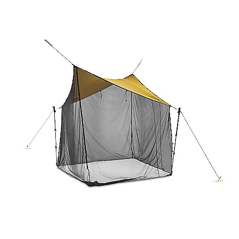 Camp and Hike Free Shipping. Nemo Bugout Elite 7x7 Tent DECENT FEATURES of the Nemo Bugout Elite 7x7 Tent Mesh sides can be rolled up and secured out of the way (all models) Attach corners with cord to trekking poles or nearby trees Multiple stake points at each corner allow you to adjust the shelter height Two-way zippered entry/exits at each corner allow for easy access The SPECS Capacity: 2 Person Minimum Weight: 1 lb 15 oz / 900 g Packed Weight: 2 lbs 14 oz / 1.3 kg Floor Dimension: 84 x 84in. / 213 x 213 cm Interior Height: 72in. / 183 cm Floor Area: 49 square feet / 4.6 square meter Packed Size: 16 x 6 Diameter: 40 x 15 cm Shell: DWR Mesh Fly/Vestibule: 20D PU Nylon Stuff Sack Style: Drawstring Included Accessories: Drawstring tuff sack, stakes, guy-out cord, repair kit OVERSIZE ITEM: We cannot ship this product by any expedited shipping method (3-Day, 2-Day or Next Day). Even if you pick that option, it will still go Ground Shipping. Sorry for being so mean. This product can only be shipped within the United States. Please don't hate us. Nemo products cannot be shipped to Japan. Please don't hate us. - $259.95