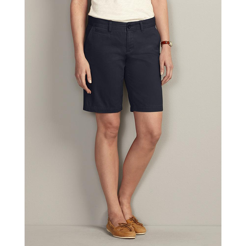 "Eddie Bauer Slightly Curvy 10"" Legend Wash Shorts - Our exclusive Legend Wash delivers ultrasoft, broken-in comfort from Day One. Styling details include a coin pocket, angled front slash pockets, and button-through welt back pockets. - $14.99"