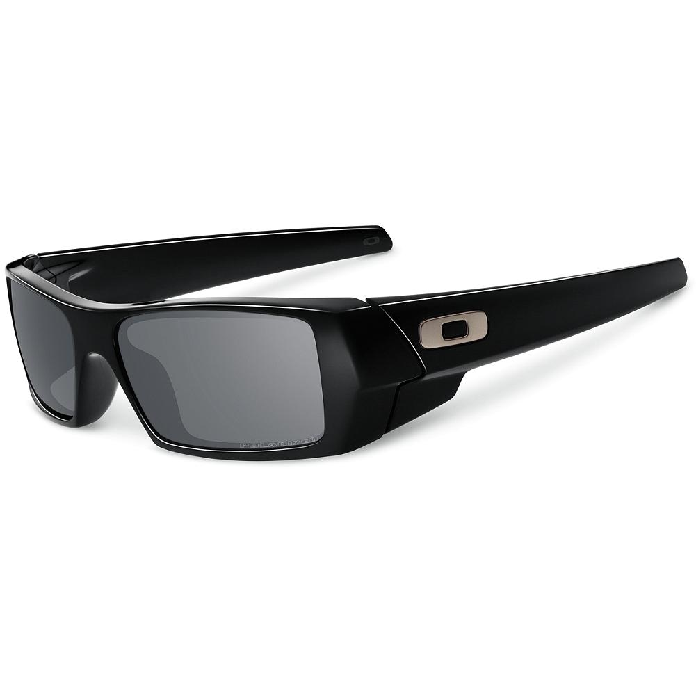 Entertainment Eddie Bauer Oakley Polarized Gascan Sunglasses - Superior sunglasses for use in highly reflective environments, like snow or water. Oakley cuts two lenses from the curve of a single lens shield, then mounts them in the frame to maintain the original, continuous contour. The polarized lenses are engineered especially to block glare. The polarizing filter is bonded to the lenses at the molecular level, eliminating haze and distortion. XYZ Optics maximize peripheral vision by maintaining visual clarity at all angles of view. - $140.00