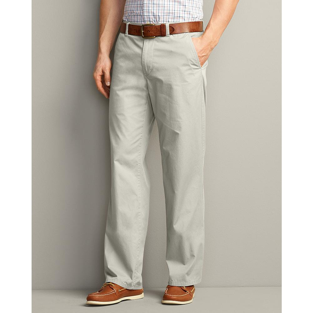 Entertainment Eddie Bauer Classic Fit Lightweight Chino Pants - The summer version of our popular chino pants, these are made of a lightweight twill that's treated to our Legend Wash for a uniquely soft, broken-in feel. The classic lines can go as casual as you want, but also work with a dress shirt and tie. The Hollywood waist, where there's no separate waistband added, creates a smoother, more finished look. - $14.99