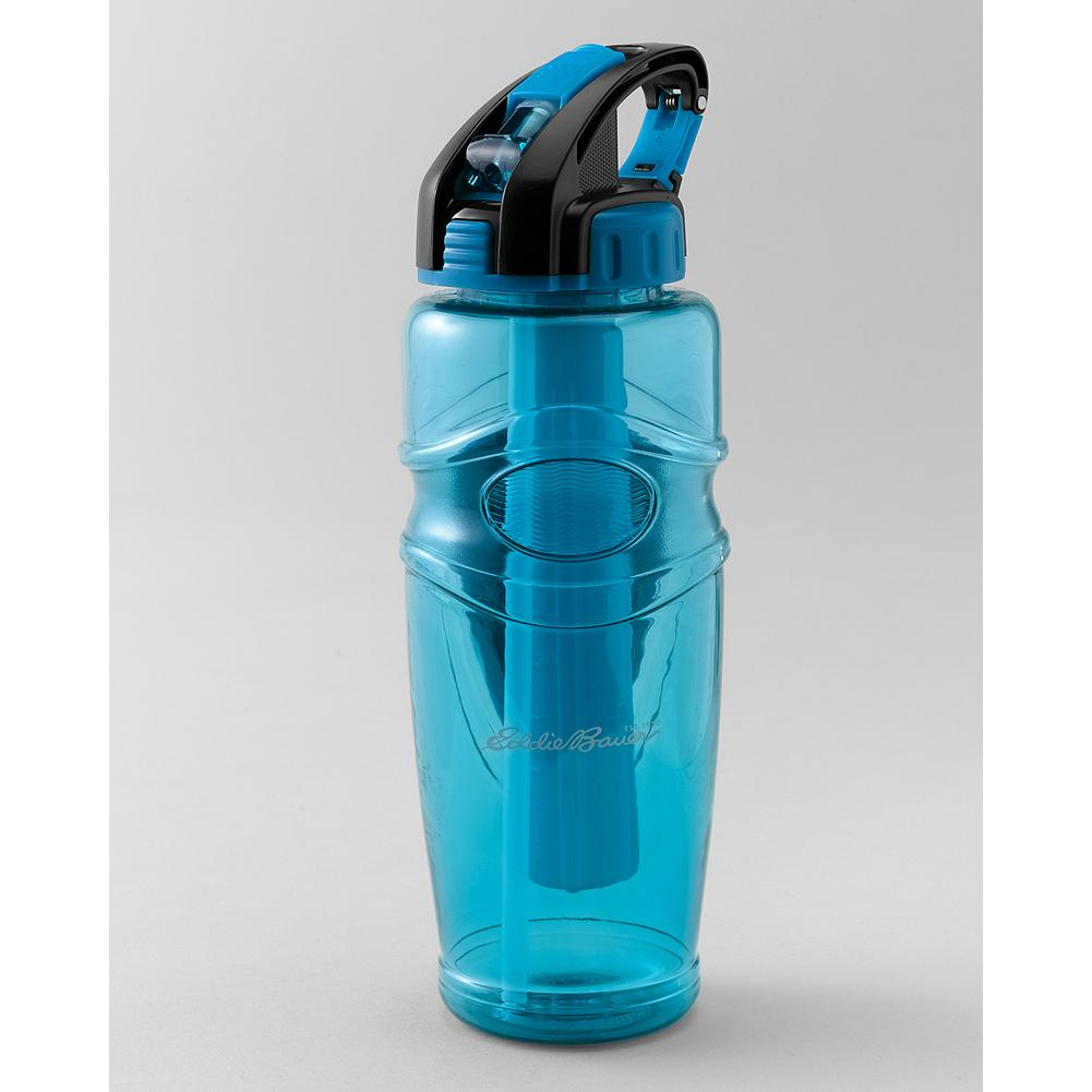 Fitness Eddie Bauer 32-Oz. Freezer Water Bottle - Stay hydrated while active-running, hiking, cycling-and keep those liquids refreshingly cool with this water bottle freezer. The removable freezer core, filled with a non-toxic gel, acts as a re-useable ice cube. - $11.99