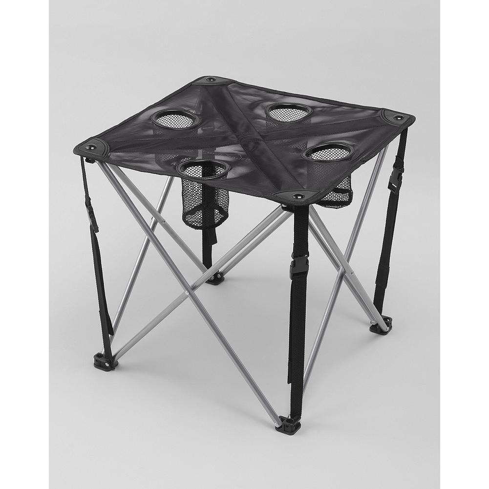Camp and Hike Eddie Bauer Camp Table - Whether you're setting up camp or heading to an outdoor concert, this sturdy portable table is just the thing for snacks and drinks on the go. Simple quad-frame design for easy set up/take down. - $24.95