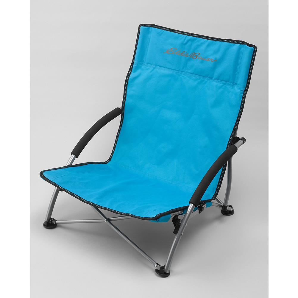 Camp and Hike Eddie Bauer Outdoor Chair - Carry our lightweight chair to the beach, concerts in the park, or anywhere else you want a rest stop. The quad frame design sets up easily. Metal arms are EVA-wrapped for cushioning. Weighs 6.6 lbs. - $29.95