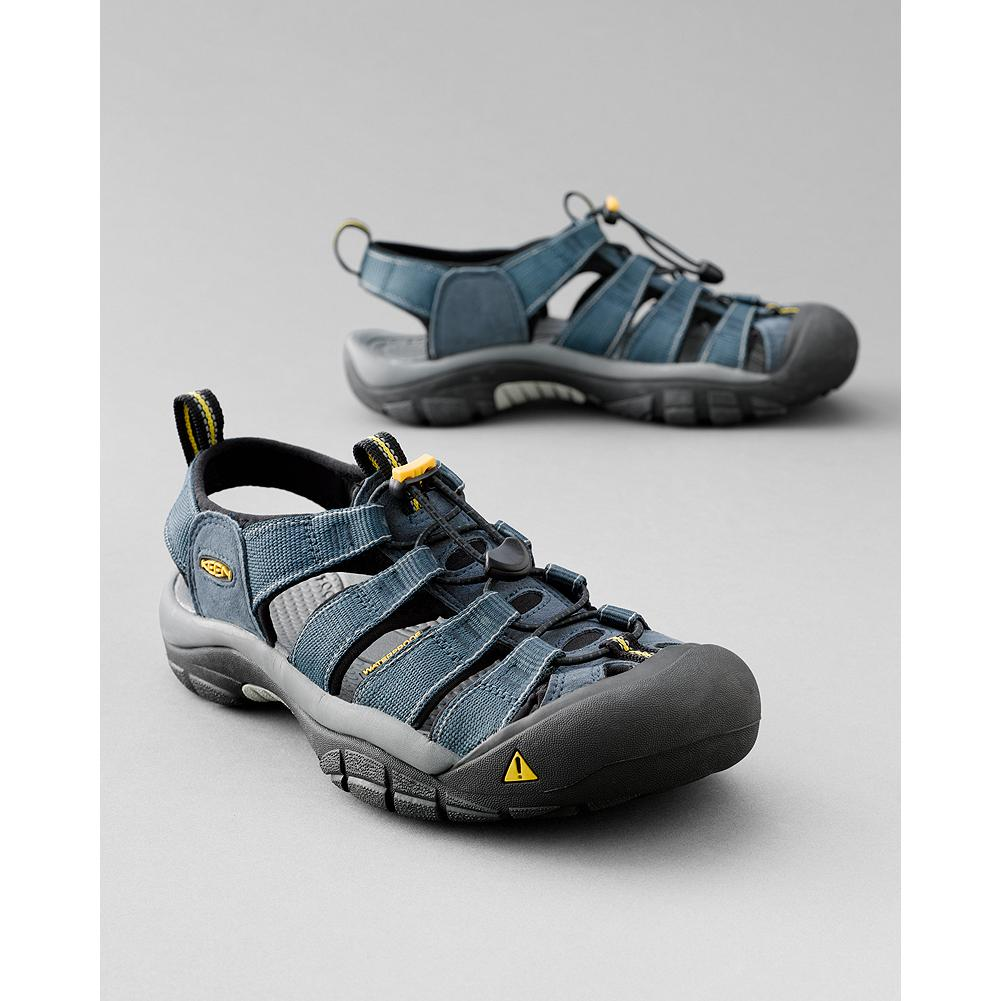 Surf Keen Newport H2 Sandals - Ready for action. Washable polyester webbing upper with Aegis Microbe Shield and razor-siped rubber sole for great traction. Imported. - $100.00