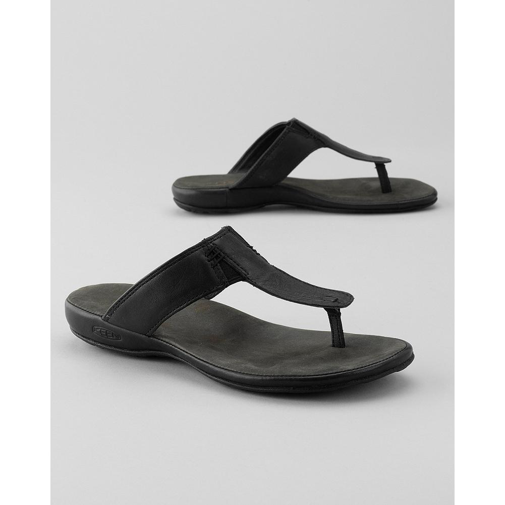 Surf Keen Emerald City Thong II Sandals - Classic T-strap thong sandals in full-grain leather. The upper's gore panel ensures a comfortable and secure fit. - $29.99
