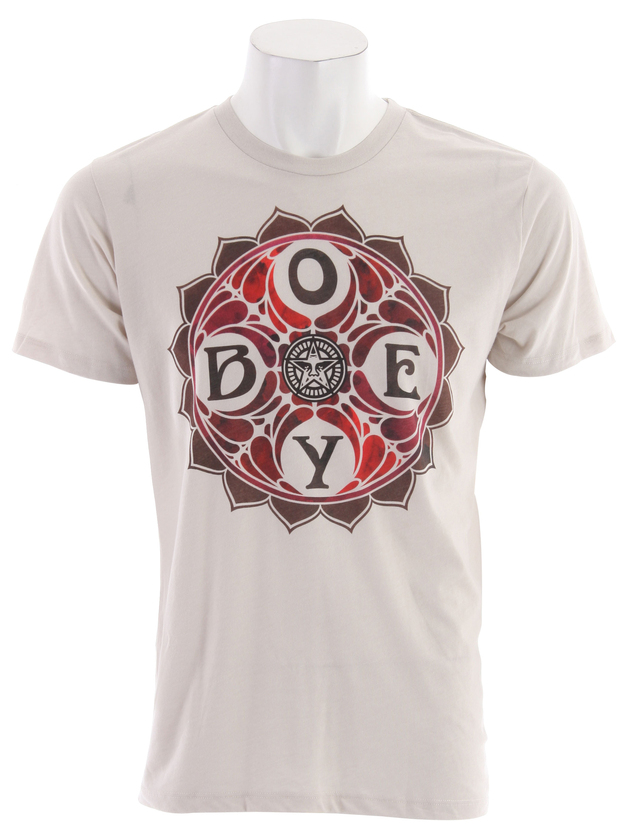 Key Features of The Obey Dye Star T-Shirt: Slim Fit Crew Neck Short Sleeve Obey lightweight, Ribbed crew neck 50% Cotton/50% Poly - $27.95