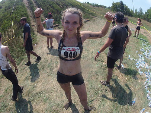 Fitness Rugged Maniac 5k obstacle course/mud run.