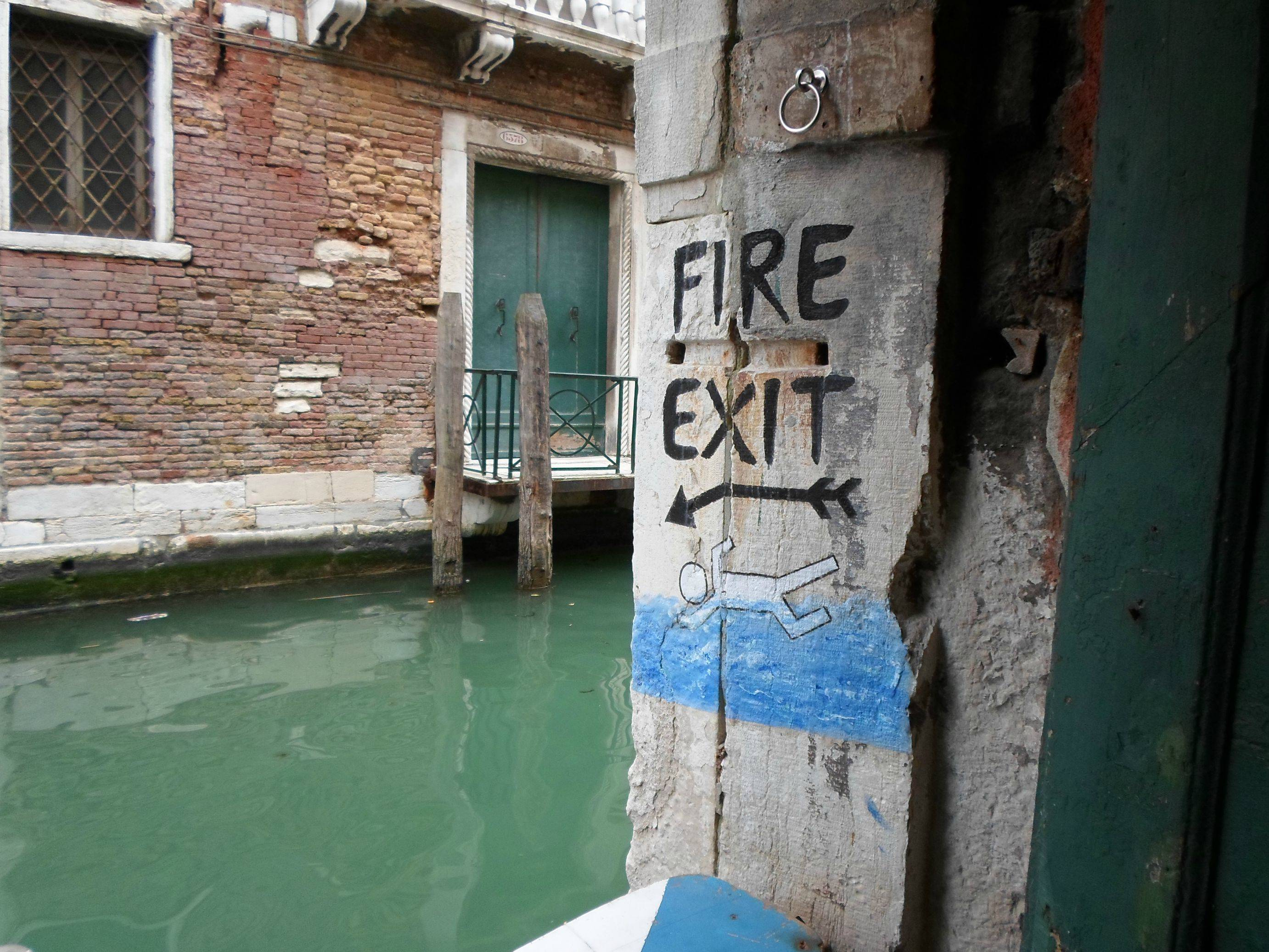 Entertainment Fire exits in Venice