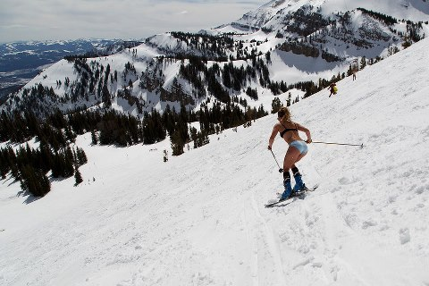 Ski 4/1/2013 – Come enjoy the last week in Jackson Hole.